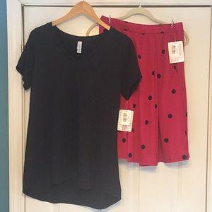 LuLaRoe Christy T blouse 👚 & Madison skirt